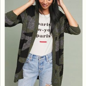 Anthropologie Moth Camp Sweater